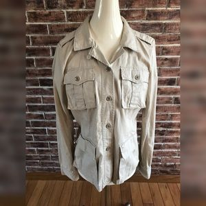 Denim & Supply Ralph Lauren Sz Medium Twill Jacket